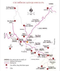 Các địa điểm du lịch sapa