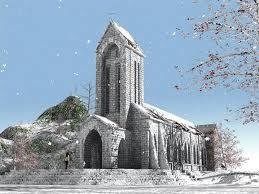 Nhà thờ đá ở Sapa