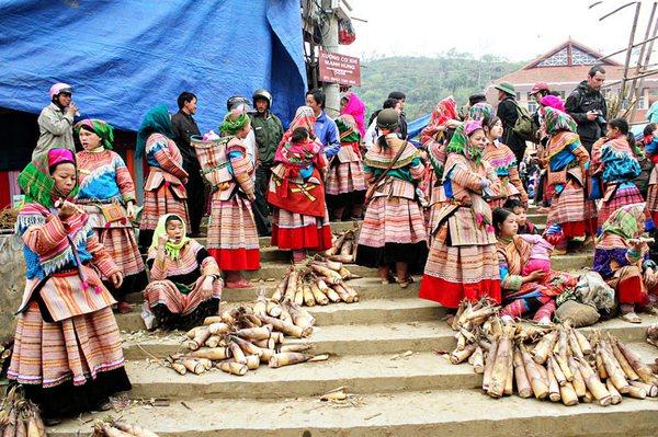 Chợ phiên Bắc Hà Sapa Lào Cai