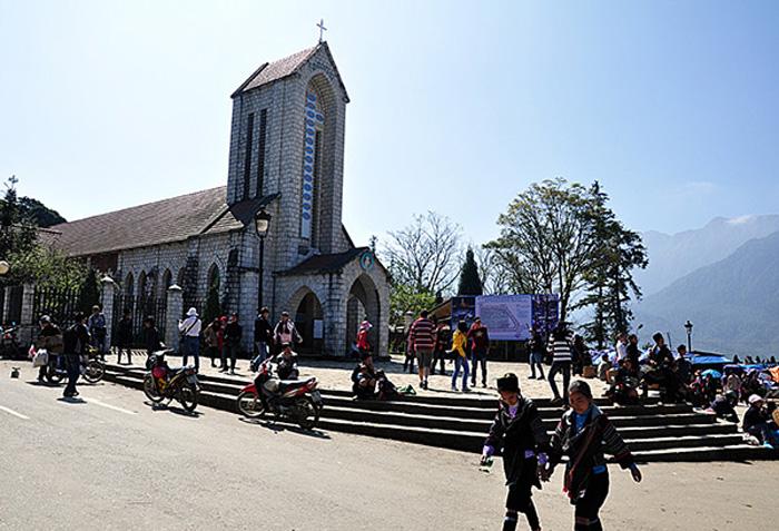 Mua sắm tại thị trấn Sapa
