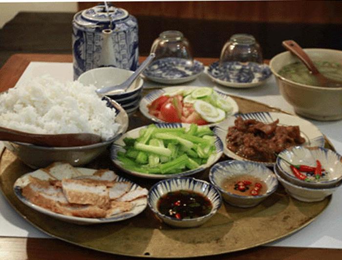 Bữa cơm giản dị của người dân Sapa