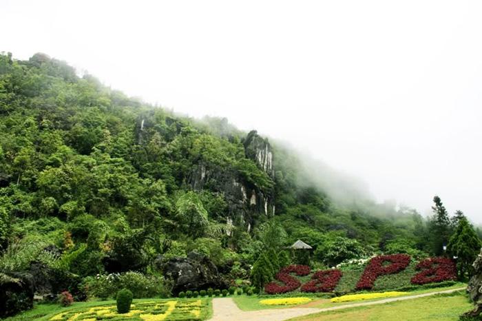 Vẻ đẹp núi Hàm Rồng Sapa