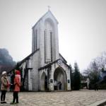 Nhà thờ đá cổ Sapa – nét đẹp kỳ ảo phố Núi