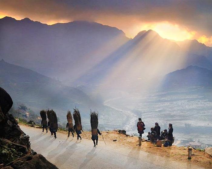 Bình minh ở Sapa Lào Cai
