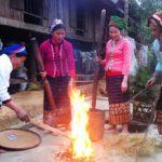 Phong tục của người Thái dịp Tết ở Mai Châu