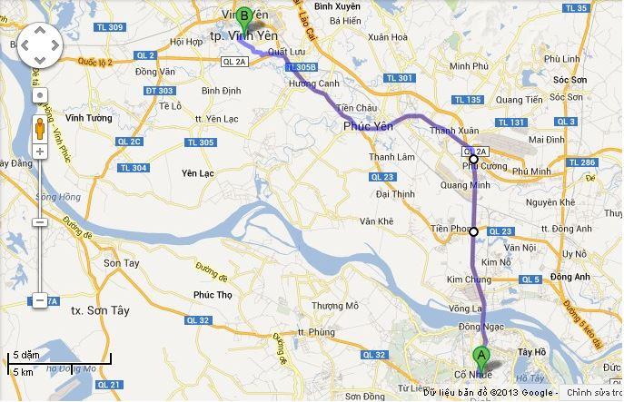 Bản đồ du lịch phượt sapa