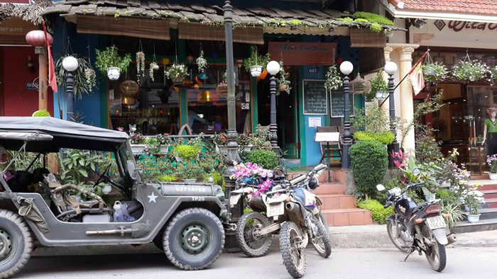Mặt tiền xanh của Việt emotion Sapa Lào Cai