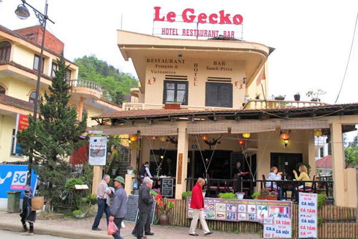 Quán cà phê phong cách Pháp Le Gecko