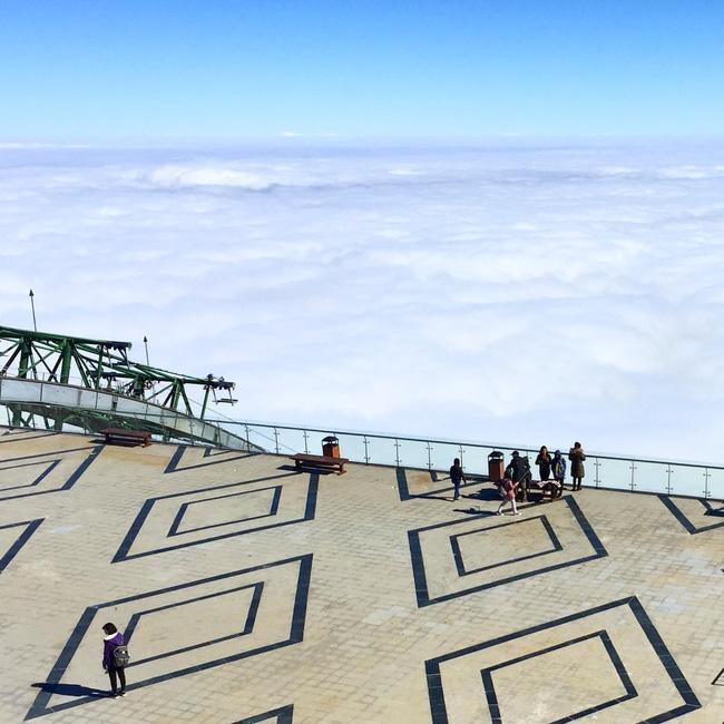 Sân mây thế này còn mong chờ gì nữa