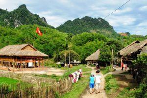 Vẻ đẹp xinh đẹp, yên bình của thung lũng Mai Châu