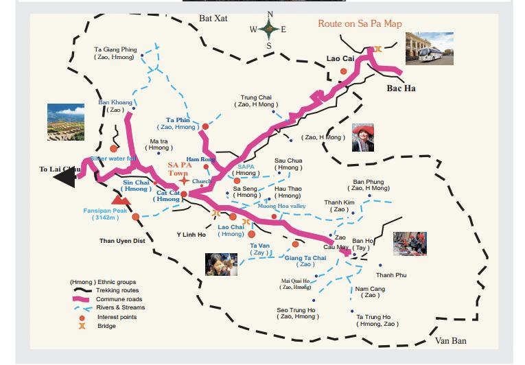 Sapa-Tourist-Map