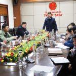 Thị xã Sa Pa họp khẩn triển khai công tác phòng chống Covid-19